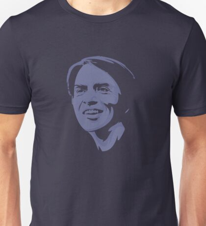 Carl Sagan (Smaller) Unisex T-Shirt