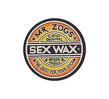 Mr Zogs Sex Wax - Orange Fade by Leo Barbieri