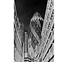 The Gherkin Building London Photographic Print