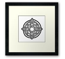 amulet of mara / black Framed Print
