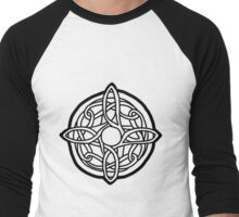 amulet of mara / black Men's Baseball ¾ T-Shirt