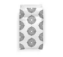 amulet of mara / black Duvet Cover
