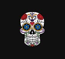 Floral sugar skull Unisex T-Shirt