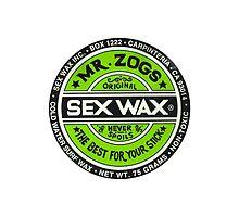 Mr Zogs Sex Wax - Green by Leo Barbieri