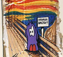 Bert - The Scream by Richard Yeomans