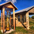 Old Gas Station on Texas Hwy 6 (Clifton, TX) by Terence Russell