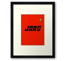 Just Another Red Shirt Framed Print