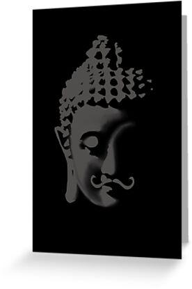 Buddha moustache by JayZ99