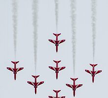 The Red Arrows - Rhyl 2012 by The Walker Touch