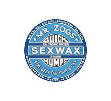 Mr Zogs Sex Wax - Full Blue by Leo Barbieri