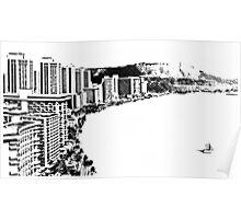 Comics Coast Poster