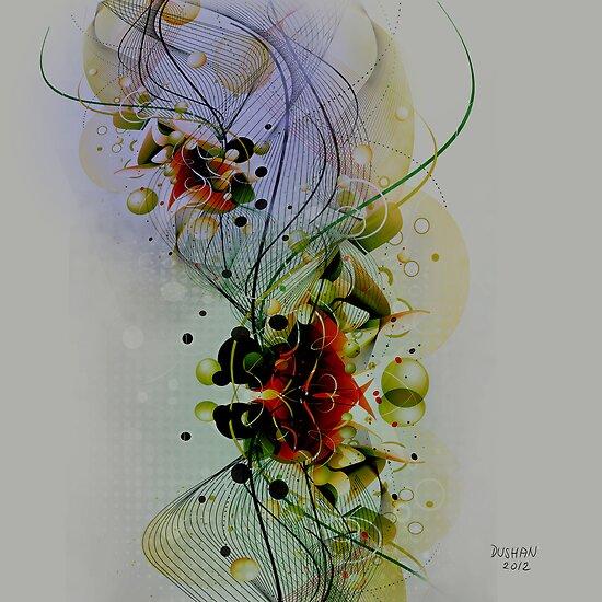 Pastel Tones Abstract Digital Art by artonwear