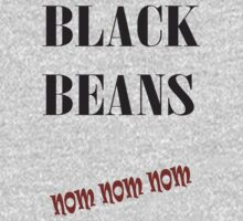 Black Beans by veganese
