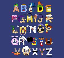 Breakfast Mascot Alphabet Unisex T-Shirt