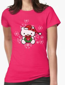 Hello Kitty on Christmas T-Shirt