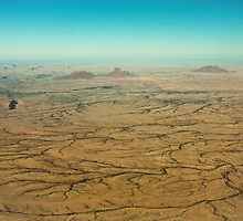 Brushstrokes in Namibian Sand by Owed to Nature