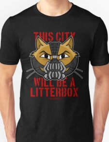 Cheshire POP! - This City Will Be A Litterbox T-Shirt