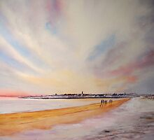 Winter on St Andrews by Beatrice Cloake