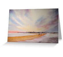 Winter on St Andrews Greeting Card