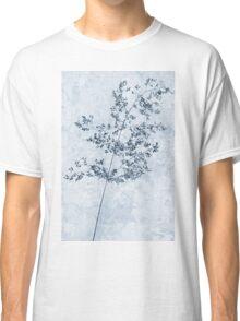Pressed Grass Cyanotype Classic T-Shirt