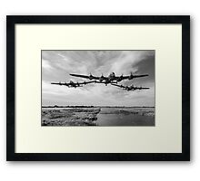 Dambusters practise low flying Framed Print