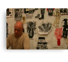 In the Studio - These are Me Canvas Print
