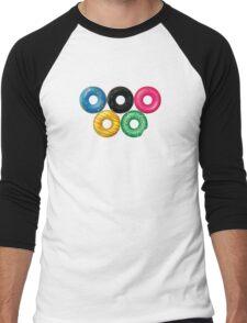Doughnut rings Men's Baseball ¾ T-Shirt