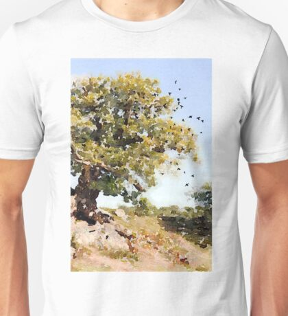 Charnwood Forest Watercolour Unisex T-Shirt