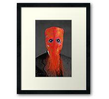 Mr Spineless Framed Print