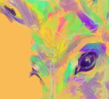 Color Donkey Sticker
