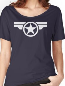 Super Soldier - White Women's Relaxed Fit T-Shirt
