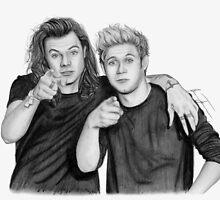 Niall & Harry by artbygina