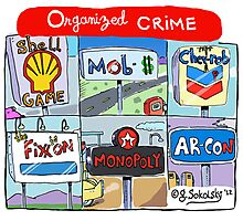 """Organized Crime"" Photographic Print"