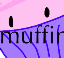 It's muffin time! Sticker