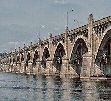 WRIGHTSVILLE BRIDGE by Diane Peresie
