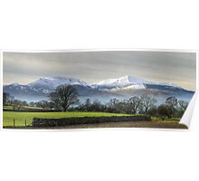 The Coledale Round From Castlerigg Poster