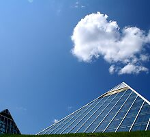 Muttart Sky by hphotography
