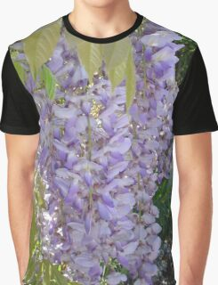 Wisteria Racemes Graphic T-Shirt