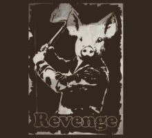 Revenge vegetarian, vegan shirt by J. Stoneking