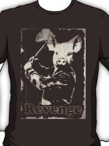 Revenge vegetarian, vegan shirt T-Shirt