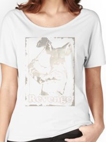 Revenge vegetarian, vegan shirt Women's Relaxed Fit T-Shirt