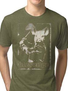 Revenge vegetarian, vegan shirt Tri-blend T-Shirt