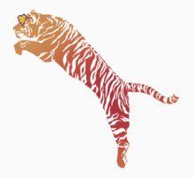 Tiger jump bright Kids Tee