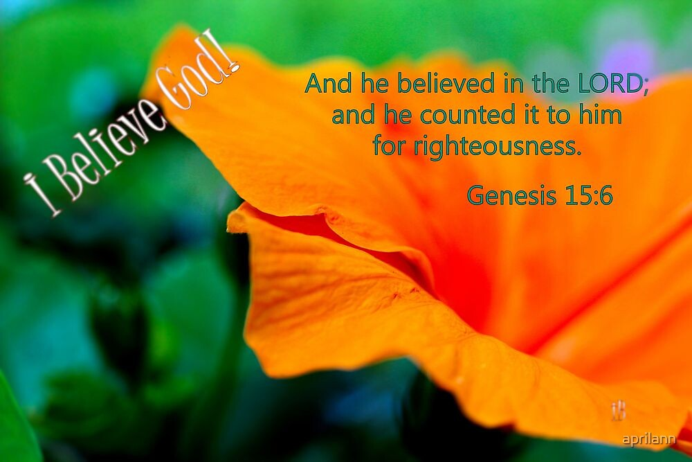 And He Believed in the Lord. . . by aprilann
