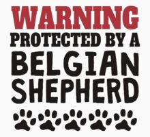 Protected By A Belgian Shepherd One Piece - Long Sleeve