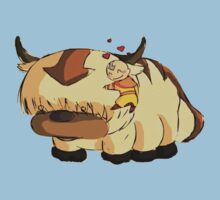 Appa and Aang by chrissy42