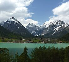 Pertisau and Lake Achen - Tyrol, Austria by Kat Simmons