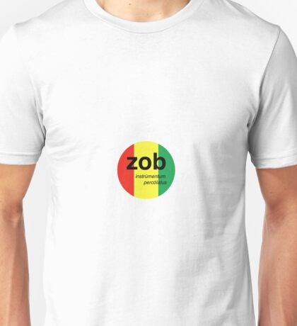 Zob Glass Sicker (Rasta) Unisex T-Shirt