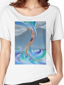 The Eye of the Storm Women's Relaxed Fit T-Shirt