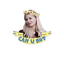 Emma Swan doesn't take any of your poop Photographic Print